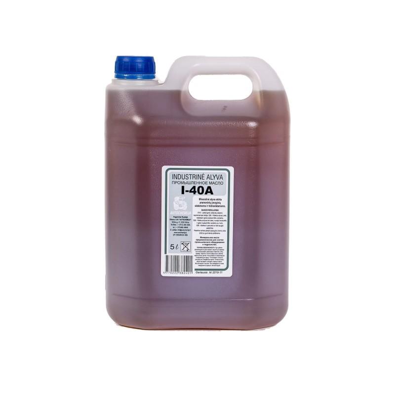 Industrinė alyva I-40A 5L Autochemija