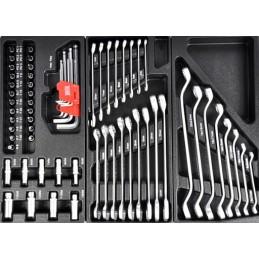 Įrankių spintelė su 7 stalčiais, 220 vnt. - BASS Polska   AUTOPP