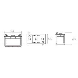 Akumuliatorius 6V/190Ah 1000A Jenox CLASSIC