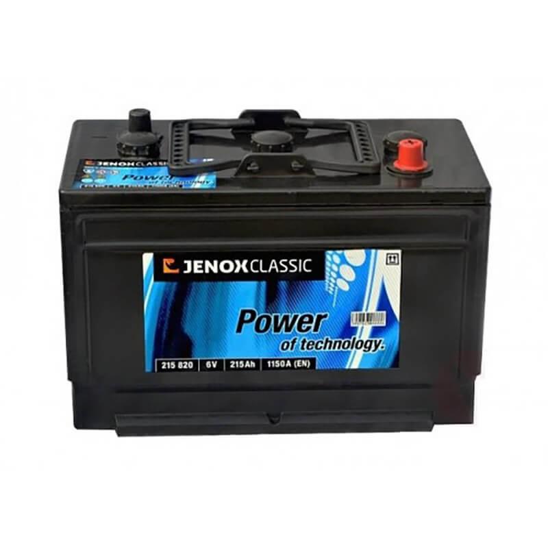 Akumuliatorius 6V/215Ah 1150A Jenox CLASSIC