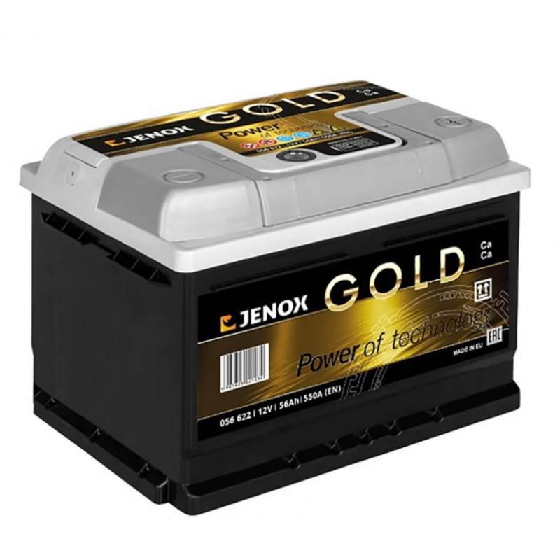 Akumuliatorius 12V/56Ah 550A Jenox GOLD