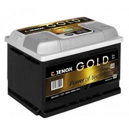Akumuliatorius 12V/63Ah 600A Jenox GOLD