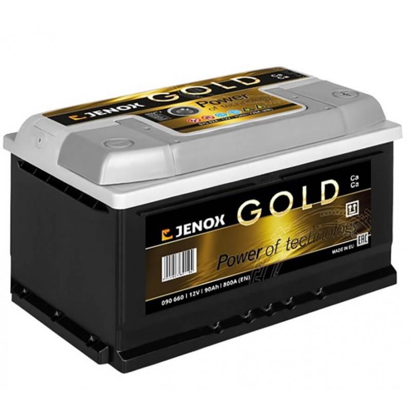 Akumuliatorius 12V/90Ah 800A Jenox GOLD