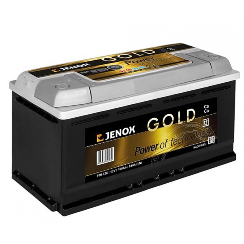 Akumuliatorius 12V/100Ah 840A Jenox GOLD