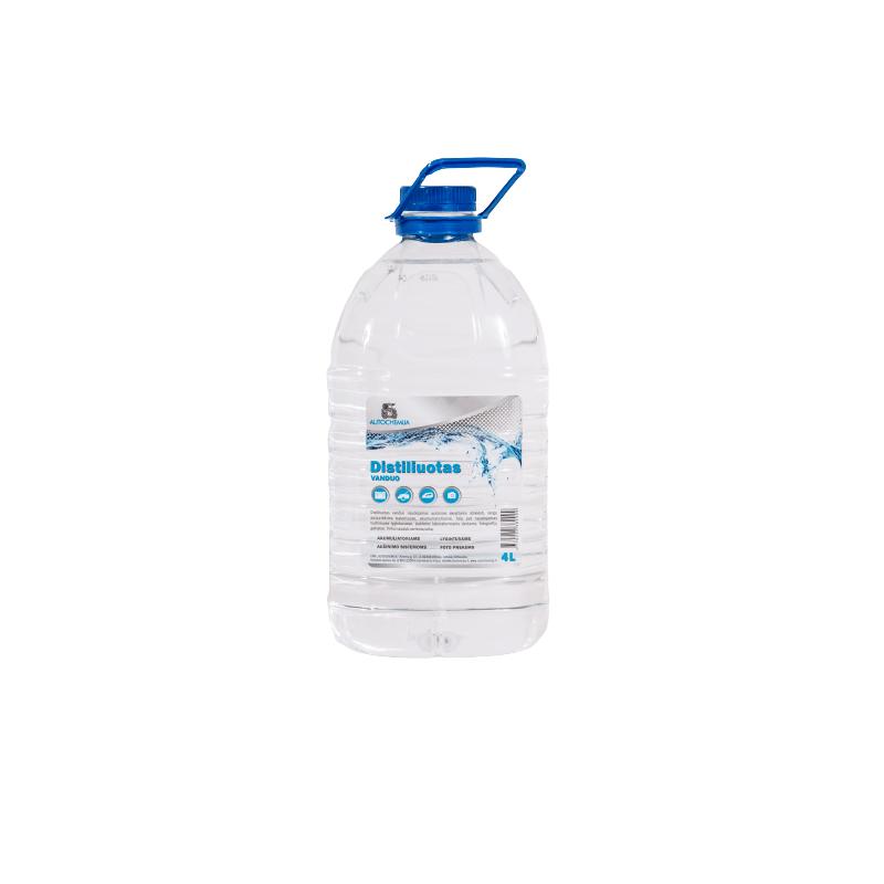 Distiliuotas vanduo 4L autochemija