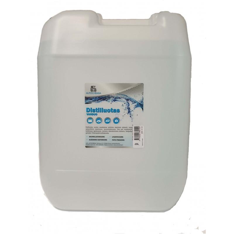 Distiliuotas vanduo 20L autochemija