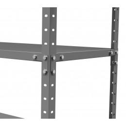 Metalinės surenkamos lentynos STEEL - 180x90x40 5L 450kg