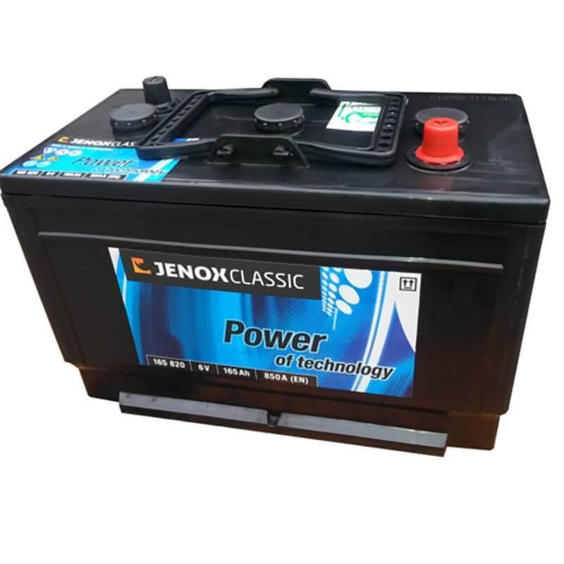 Akumuliatorius 6V/164Ah 850A Jenox CLASSIC