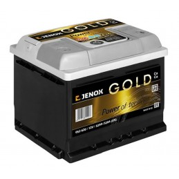 Akumuliatorius 12V/52Ah 520A Jenox GOLD