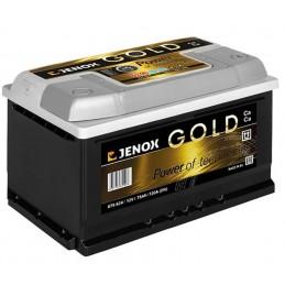 Akumuliatorius 12V/75Ah 720A Jenox GOLD