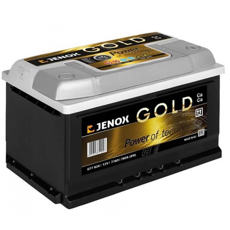 Akumuliatorius 12V/77Ah 760A Jenox GOLD
