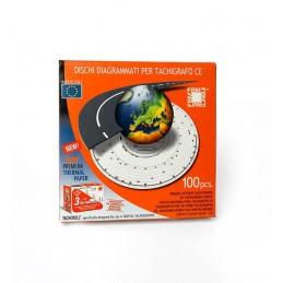 Tachografo diskas 125-24 100 vnt.