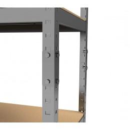 Metalinės surenkamos sandėliavimo lentynos PRIMO II - Garažui, Katilinei, Biurui, Stelažas
