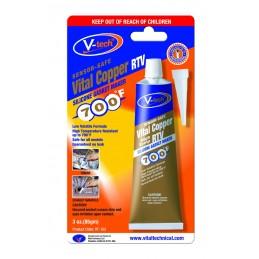 "Vario spalvos sandariklis ""Vital Copper RTV"" VT-153  85g"