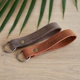 Rankų darbo pakabukas - Natural Leather