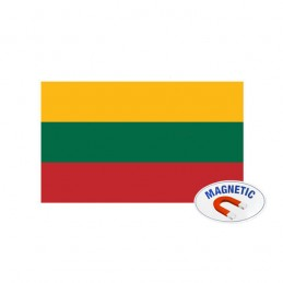Magnetinis lipdukas - Lietuvos trispalvė