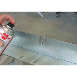 Purškiama matinė aliuminio danga - Perfect 400ml 0893 114 115
