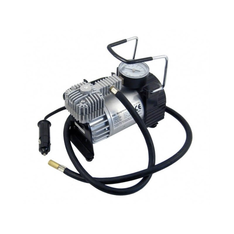 Mašininis kompresorius 12V, metalinis Car Commerce AUTO PP
