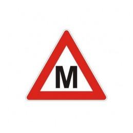 Lipdukas M raidė - Mokinys autopp.lt