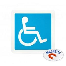 Magnetinis lipdukas Neįgalusis, skiriamasis ženklas, autopp.lt