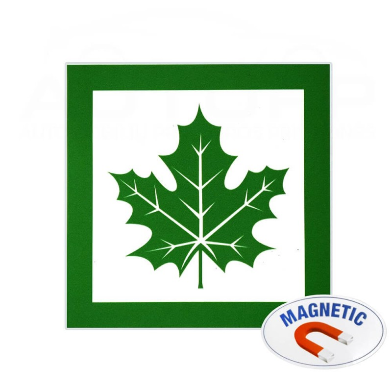 Magnetinis lipdukas - Klevo lapas autopp.lt