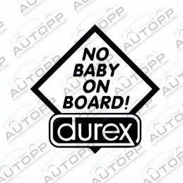 Lipdukas - No Baby on Board!