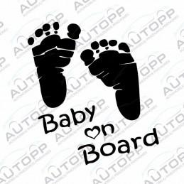 Lipdukas - Pėdutės (Baby on Board!)