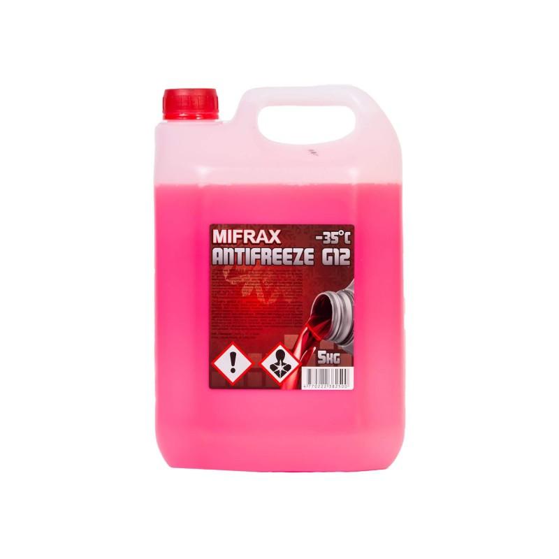 Aušinimo skystis Mifrax G12 -35°C 5L