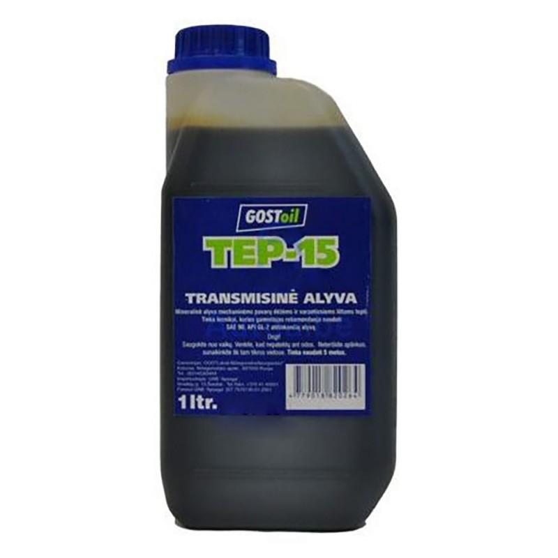Mineralinė transmisinė alyva TEP-15 1l