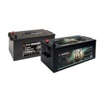 Akumuliatoriai Jenox SVR / SRP / Atsparūs vibracijai / Dažniems užvedimams